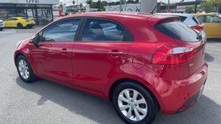 2014 Kia Rio UB MY14 S Signal Red 4 Speed Sports Automatic Hatchback