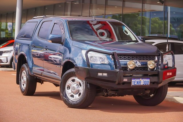 Used Holden Colorado RG MY15 LS Crew Cab Gosnells, 2014 Holden Colorado RG MY15 LS Crew Cab Blue 6 Speed Sports Automatic Utility