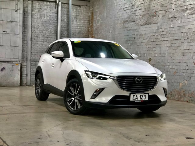 Used Mazda CX-3 DK2W7A sTouring SKYACTIV-Drive Mile End South, 2015 Mazda CX-3 DK2W7A sTouring SKYACTIV-Drive White 6 Speed Sports Automatic Wagon