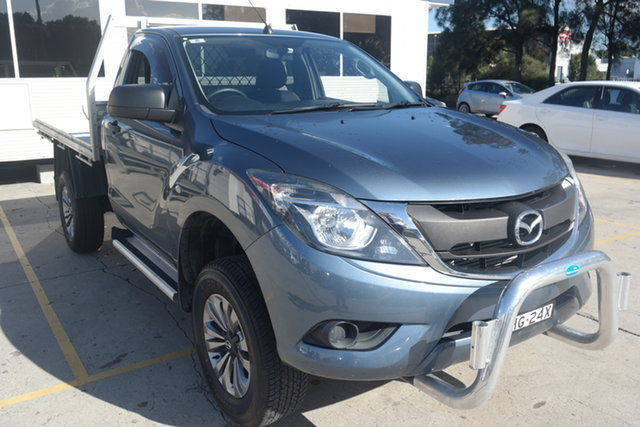 Used Mazda BT-50 UR0YG1 XT Maryville, 2017 Mazda BT-50 UR0YG1 XT Blue 6 Speed Sports Automatic Cab Chassis