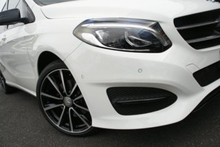 2016 Mercedes-Benz B-Class W246 807MY B200 DCT Cirrus White 7 Speed Sports Automatic Dual Clutch.