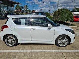 2012 Suzuki Swift FZ Sport White 7 Speed Constant Variable Hatchback.