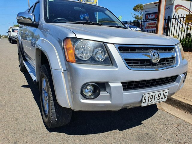 Used Holden Colorado RC MY09 LT-R Crew Cab 4x2 Morphett Vale, 2009 Holden Colorado RC MY09 LT-R Crew Cab 4x2 Silver 4 Speed Automatic Utility