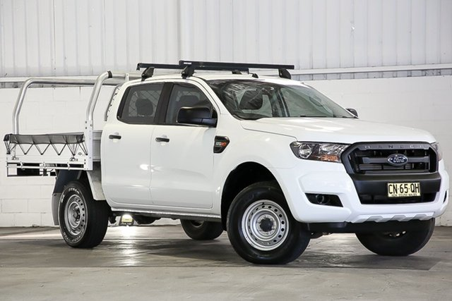 Used Ford Ranger PX MkII 2018.00MY XL Hi-Rider West Gosford, 2017 Ford Ranger PX MkII 2018.00MY XL Hi-Rider White 6 Speed Sports Automatic Cab Chassis