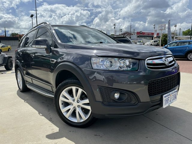 Used Holden Captiva CG MY15 7 LT (AWD) Victoria Park, 2014 Holden Captiva CG MY15 7 LT (AWD) Grey 6 Speed Automatic Wagon