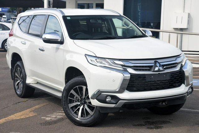 Used Mitsubishi Pajero Sport QE MY19 Exceed North Gosford, 2019 Mitsubishi Pajero Sport QE MY19 Exceed White 8 Speed Sports Automatic Wagon