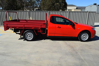 2012 Ford Falcon FG MkII Ute Super Cab Red 6 Speed Manual Utility