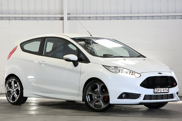 Used Ford Fiesta WZ ST West Gosford, 2017 Ford Fiesta WZ ST White 6 Speed Manual Hatchback