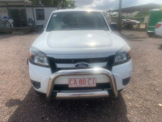 2009 Ford Ranger XL White 5 Speed Manual Double Cab.