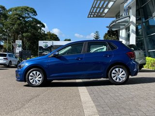 2020 Volkswagen Polo AW MY20 70TSI Trendline Blue 5 Speed Manual Hatchback
