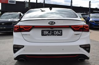 2020 Kia Cerato BD MY21 GT DCT White 7 Speed Sports Automatic Dual Clutch Hatchback