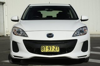 2012 Mazda 3 BL10F2 MY13 Neo Activematic Crystal White 5 Speed Sports Automatic Hatchback
