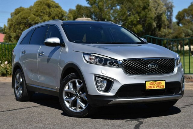 Used Kia Sorento UM MY16 Platinum AWD Enfield, 2016 Kia Sorento UM MY16 Platinum AWD Silver 6 Speed Sports Automatic Wagon