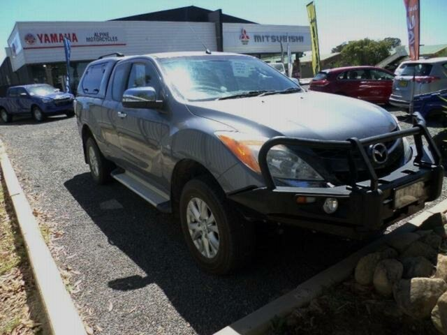 Used Mazda BT-50 MY13 XTR (4x4) Wangaratta, 2014 Mazda BT-50 MY13 XTR (4x4) Grey 6 Speed Automatic Freestyle Utility