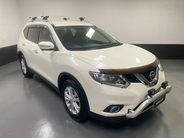 Used Nissan X-Trail T32 ST-L X-tronic 2WD Cardiff, 2014 Nissan X-Trail T32 ST-L X-tronic 2WD Ivory Pearl 7 Speed Constant Variable Wagon