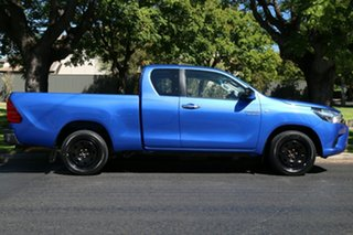 2015 Toyota Hilux GUN123R SR Extra Cab 4x2 Blue 5 Speed Manual Utility
