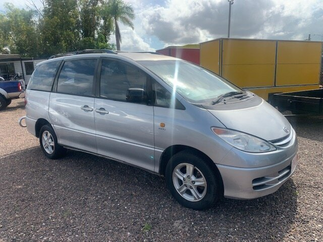 Used Toyota Tarago GXL Pinelands, 2002 Toyota Tarago GXL Silver 4 Speed Auto Active Select Wagon