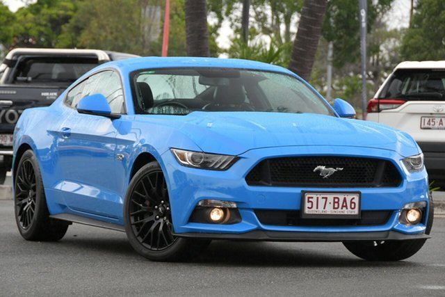 Used Ford Mustang FM 2017MY GT Fastback North Lakes, 2017 Ford Mustang FM 2017MY GT Fastback Blue 6 Speed Manual Fastback