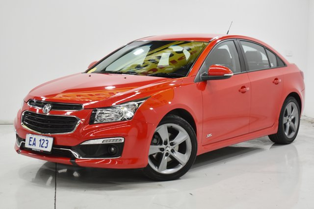 Used Holden Cruze JH Series II MY16 SRI Z-Series Brooklyn, 2016 Holden Cruze JH Series II MY16 SRI Z-Series Red/Black 6 Speed Sports Automatic Sedan