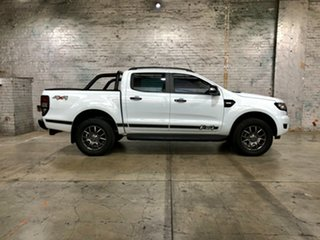 2017 Ford Ranger PX MkII FX4 Double Cab White 6 Speed Manual Utility
