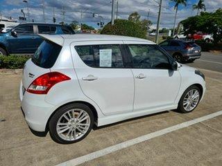 2012 Suzuki Swift FZ Sport White 7 Speed Constant Variable Hatchback