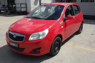 2008 Holden Barina TK MY09 Red 4 Speed Automatic Hatchback.