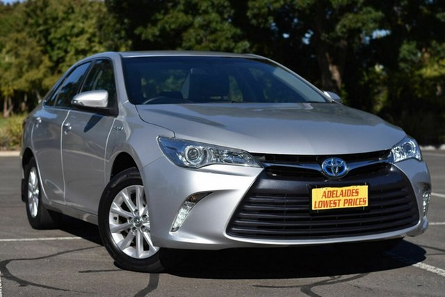 Used Toyota Camry AVV50R Altise Enfield, 2017 Toyota Camry AVV50R Altise Silver 1 Speed Constant Variable Sedan Hybrid