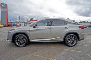 2016 Lexus RX GYL25R RX450h F Sport Silver 6 Speed Constant Variable Wagon Hybrid