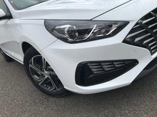 2021 Hyundai i30 PD.V4 MY21 White 6 Speed Manual Hatchback.