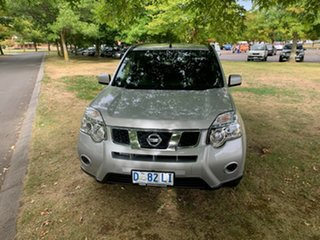 2013 Nissan X-Trail T31 Series V ST Silver 1 Speed Constant Variable Wagon.