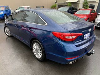 2016 Hyundai Sonata LF3 MY17 Active Blue 6 Speed Sports Automatic Sedan.
