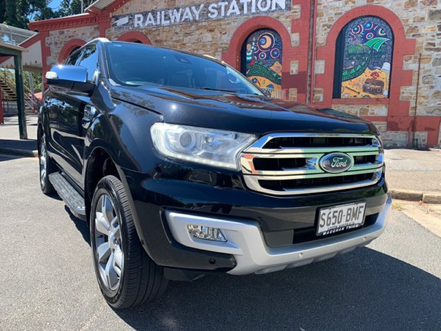 Used Ford Everest UA Titanium Cheltenham, 2015 Ford Everest UA Titanium Black 6 Speed Sports Automatic SUV