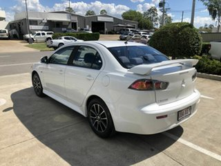 2016 Mitsubishi Lancer CF MY17 ES Sport White 6 Speed Constant Variable Sedan