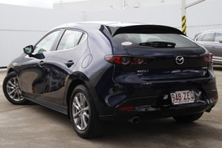 2019 Mazda 3 BP2H7A G20 SKYACTIV-Drive Pure Deep Crystal Blue 6 Speed Sports Automatic Hatchback.