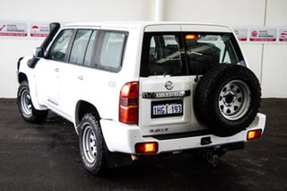 2016 Nissan Patrol GU Series 10 ST (4x4) White 5 Speed Manual Wagon