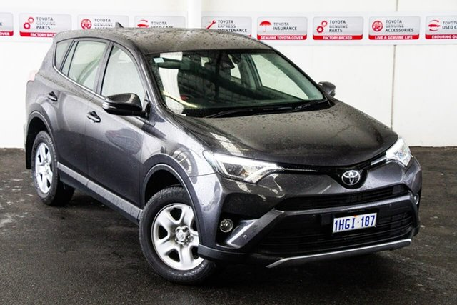 Pre-Owned Toyota RAV4 ZSA42R GX 2WD Myaree, 2018 Toyota RAV4 ZSA42R GX 2WD Graphite 7 Speed Constant Variable Wagon