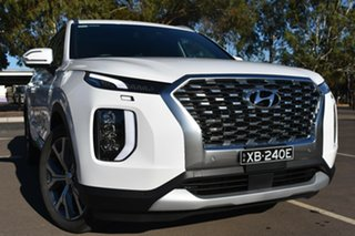 2020 Hyundai Palisade LX2.V1 MY21 Highlander 2WD White Cream 8 Speed Sports Automatic Wagon.