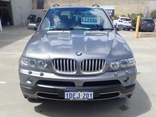 2004 BMW X5 E53 4.8IS Gun Metal 6 Speed Auto Steptronic Wagon.