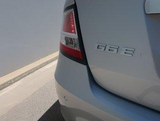 2010 Ford Falcon FG G6E 50th Anniversary Silver 6 Speed Sports Automatic Sedan