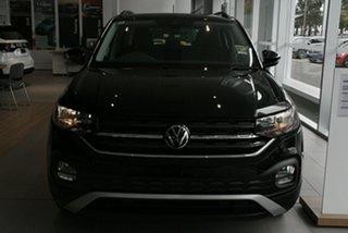 2020 Volkswagen T-Cross C1 MY21 85TSI DSG FWD Life Black 7 Speed Sports Automatic Dual Clutch Wagon.