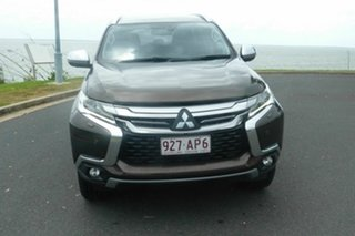 2016 Mitsubishi Pajero Sport QE MY16 Exceed Brown 8 Speed Sports Automatic Wagon