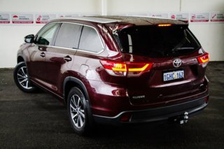 2017 Toyota Kluger GSU55R MY17 GXL (4x4) Deep Red 8 Speed Automatic Wagon