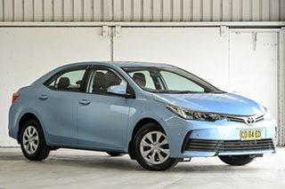 2017 Toyota Corolla ZRE172R Ascent S-CVT Blue 7 Speed Constant Variable Sedan.