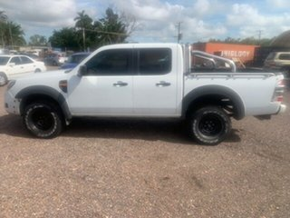 2009 Ford Ranger XL White 5 Speed Manual Double Cab