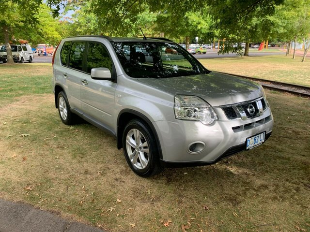 Used Nissan X-Trail T31 Series V ST Launceston, 2013 Nissan X-Trail T31 Series V ST Silver 1 Speed Constant Variable Wagon