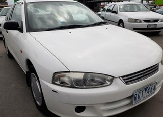 2001 Mitsubishi Lancer CE2 GLi White 5 Speed Manual Coupe.