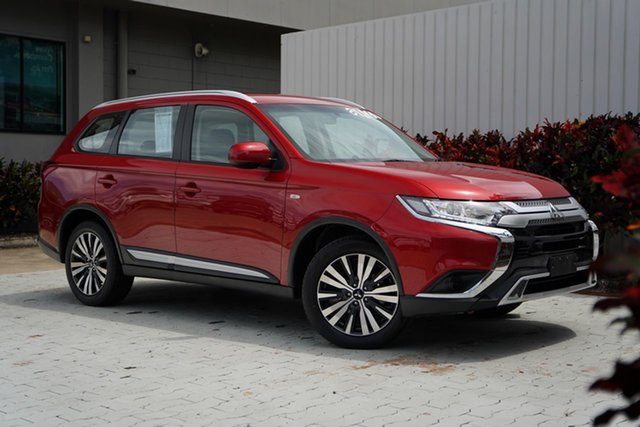Used Mitsubishi Outlander ZL MY19 ES AWD Cairns, 2019 Mitsubishi Outlander ZL MY19 ES AWD Red 6 Speed Constant Variable Wagon