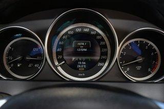 2013 Mercedes-Benz C-Class W204 MY13 C200 7G-Tronic + Elegance Silver 7 Speed Sports Automatic Sedan