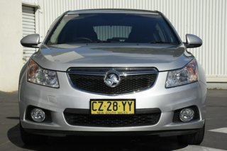 2013 Holden Cruze JH Series II MY14 Equipe Silver 5 Speed Manual Hatchback