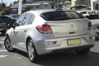 2013 Holden Cruze JH Series II MY14 Equipe Silver 5 Speed Manual Hatchback.